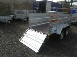 BRAND NEW Trailer 8,7 x 4,2 double axle double broadside £1100 in Kirkcaldy