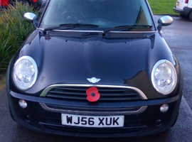 Mini One Seven, 2006 (56) Black Hatchback, 1.6l manual Petrol, 100,660 miles