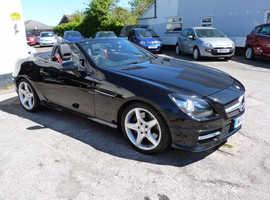 Mercedes Slk, 2012 (62) Black Convertible, Automatic Petrol, 29,000 miles