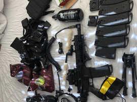 Paintball gun bundle