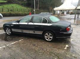 Jaguar S-TYPE, 1999 (T) Green Saloon, Manual Petrol, 117,000 miles