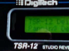 Digitech TSR-12 True Stereo Reverb/Multi Effects Processor - Live/Recording (Excellent Condition) £140 ovno)