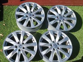 """4X18"""" Honda Alloy Wheels"""