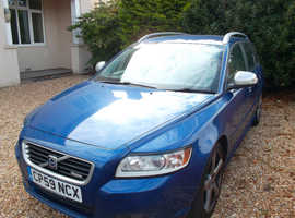 VOLVO V50 R-DESIGN SE D, 2009 (59)  ESTATE, Manual Diesel, 189000 miles May 2021 MOT