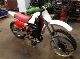 BARN FIND YAMAHA YZ125 MOTOCROSS 1986  2 STROKE VERY RARE