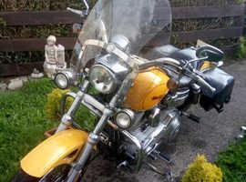 Harley Davidson Dyna super glide custom..