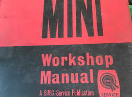 Genuine BMC Mini Workshop Manual