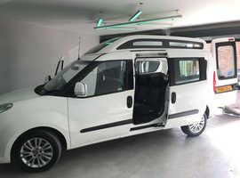 Fiat Doblo- Wheelchair accessible