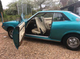 Toyota Celica, 1975 (N) Green coupe, Manual Petrol, 63000 miles
