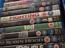 Photo's updated 22nd October ...Blu Ray Films From Only 50p/ Some titles £2 each LISTS BELOW AD