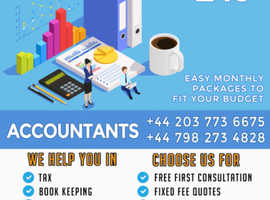 Book keeping, Accounting, Tax returns and Financial management, contact us for Free First Consulting.