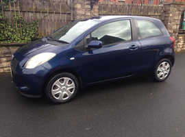 TOYOTA YARIS T3 1L, 2007 REG, LONG MOT, VERY LOW MILEAGE ONLY 65,000 & NICE SPEC WITH AIR CON