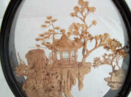 Chinese  Hand carved 3D artwork