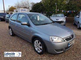 Vauxhall Corsa 1.2 Litre 3 Door Hatchback, Full Service History, New MOT, Cheap Insurance Group.