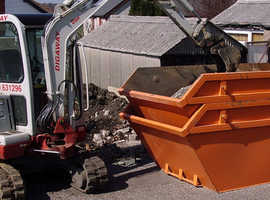 Digger and driver for groundwork / landscaping / earth removal all construction work undertaken fully insured