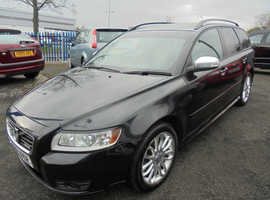 Volvo S40/V50 SERIES, 2009 (09) Black Estate, Manual Petrol, 85,000 miles, REDUCTION! SEE AD FOR FULL DETAILS
