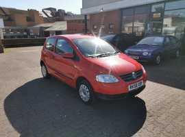 Volkswagen Fox, 2008 (58) Red Hatchback, Manual Petrol, 47,678 miles