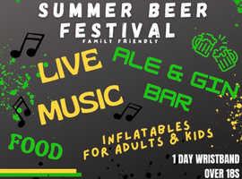 Crusaders 12th summer beer festival