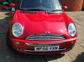 MINI Cooper, 2006 (56) Red Convertible, Manual Petrol, 59,841 miles