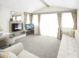 3 bedroom caravan to rent at craig tara, sea views