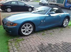 BMW Z SERIES, 2004 (54) Blue Convertible, Manual Petrol, 125,500 miles
