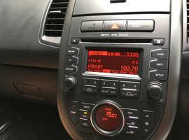 Kia Soul, 2013 (13) Silver Hatchback, Manual Diesel, 73,000 miles