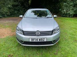 Volkswagen Passat, 2014 (14) Silver Estate, Manual Diesel, 70,000 miles