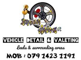 Vehicle valets & detailing. Leeds & surrounding areas