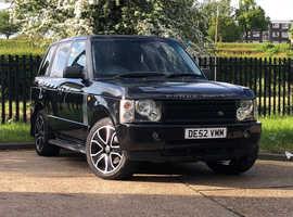 SPARES/REPAIR Land Rover Range Rover, 2002 (52) Black Estate, Automatic Petrol, 128,000 miles