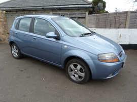 Chevrolet Kalos, 2005 (55) Blue Hatchback, Automatic Petrol, 123,000 miles