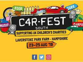 CAR FEST SOUTH TICKETS 23rd to 25th Aug