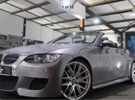 BMW 3 Series, 2007 (07) Grey Convertible, Automatic Petrol, 39,000 miles