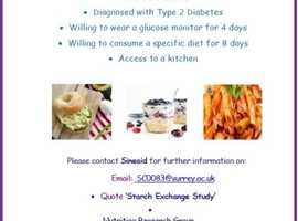 Do you have Type 2 diabetes and would like to take part in clinical research aiming to help manage the condition?