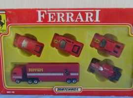 Ferrari matchbox MC-18 diecast vintage cars 1990