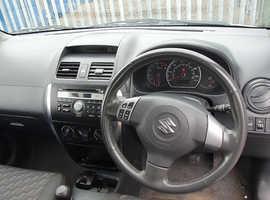 Suzuki SX4, 2007 (57) Silver Hatchback, Manual Petrol, 123,000 miles