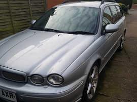 Jaguar X-TYPE, 2007 (56) Silver Estate, Manual Diesel, 200,000 miles