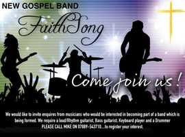 NEW GOSPEL BAND - FAITH SONG