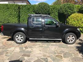 Nissan Navara, 2008 (08) Black Other, Manual Diesel,  miles 125000 great condition