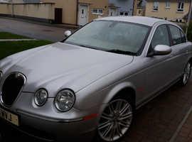 Jaguar S-TYPE, 2006 (55) Silver Saloon, Automatic Petrol, 57,000 miles