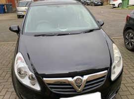 Vauxhall Corsa, 2009 (09) Black Hatchback, Manual Petrol, 48,675 miles