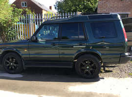 Land Rover Discovery, 7 Seats 2001 (Y) green estate, Automatic LPG, 156000 miles