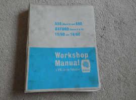 MORRIS A55 & A60 WORKSHOP MANUAL