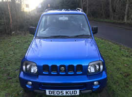 Suzuki Jimny, 2005 (05) Blue Estate, Manual Petrol, 65,000 miles