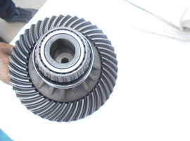 Crown wheel and pinion with differential for Ferrari 430