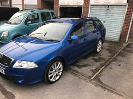 Skoda Octavia vrs, 2006 (56) Blue Estate, Manual Petrol, 112,000 miles