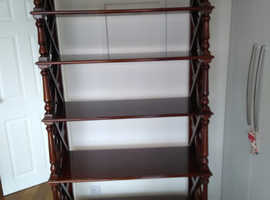 Tall robust shelving unit