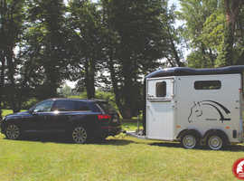 Cheval Liberte Touring Country Horse Trailer In Black