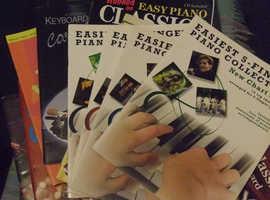 16 music books for keyboard & piano job lot