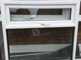 White UPVV double glazed window