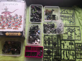 Large warhammer collection